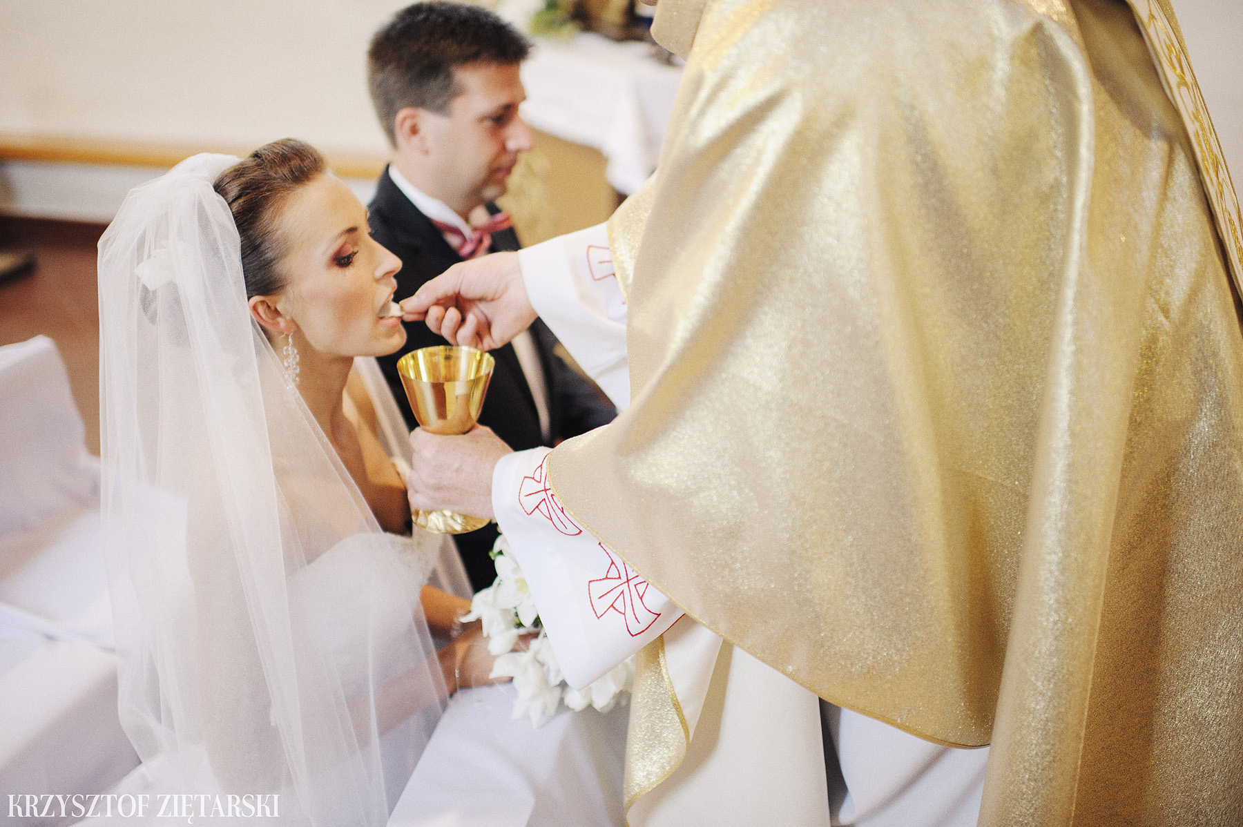 Karolina i Jacek - Fotografia ślubna Gdańsk, Chwaszczyno, Gościniec dla Przyjaciół Wyczechowo Hilary - 14.