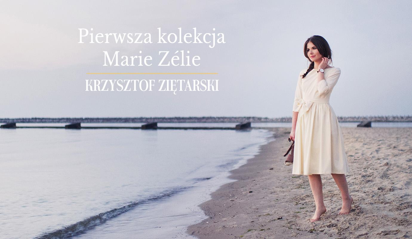 Sesja pierwszej kolekcji Marie Zélie