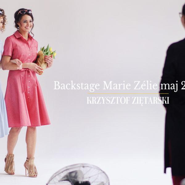 Backstage sesji Marie Zélie - maj 2017