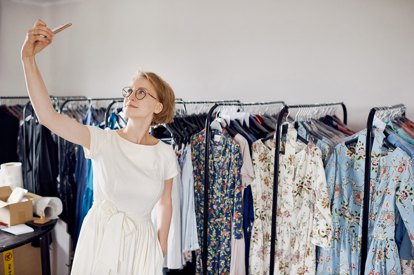 25 lipca 2017 - Jola Szymańska w pracowni Marie Zélie