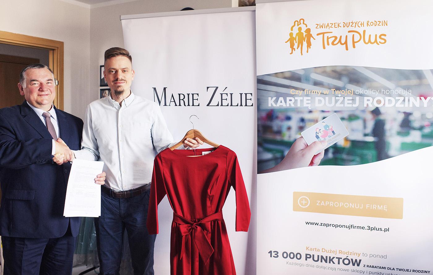 26 maja 2017 - Marie Zélie przystępuje do programu Karta Dużej Rodziny