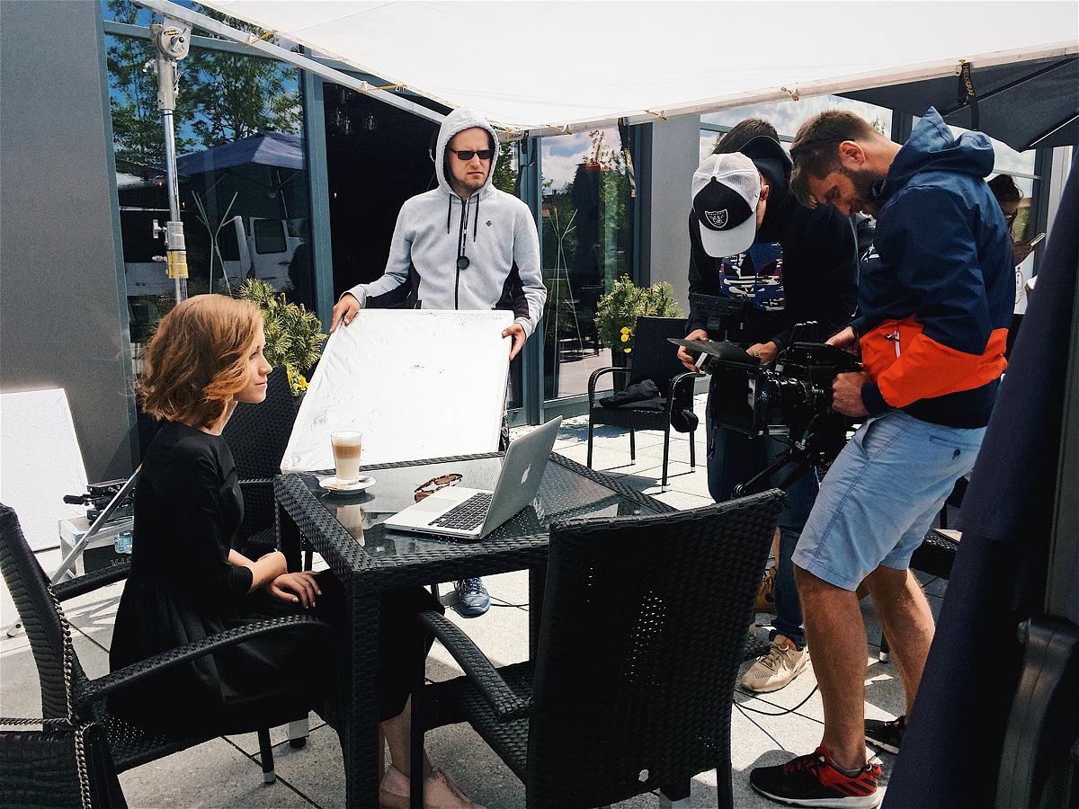 14 czerwca 2017 - zdjęcia do filmu wizerunkowego i promującego sprzedaż akcji Marie Zélie
