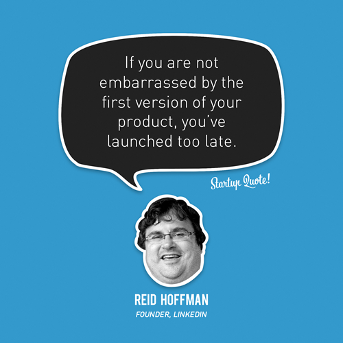 Reid Hoffman - launched too late